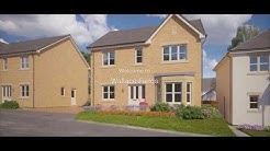 Miller Homes - Wallace Fields, Robroyston, Glasgow - Drone Video