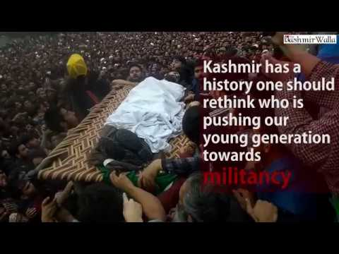 Manan Wani's father speaks about his son