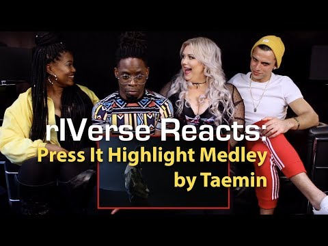 rIVerse Reacts: Press It Highlight Medley Ver. 1 by Taemin - M/V Reaction