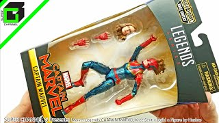 Marvel Legends CAPTAIN MARVEL Unboxing from Build-a-Figure KREE SENTRY by Hasbro!