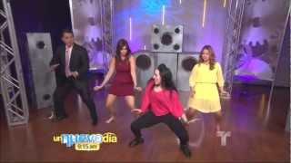 Liana Veda, Adamari Lopez, Daniel Sarcos, & Rashel Diaz on Un Nuevo Dia 10-15-12.M2TS