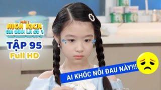 Gia đình là số 1 Phần 2 | Tập 95 Full: Lam Chi lòng đau như cắt chứng kiến Ba Mẹ cãi nhau 'ầm trời'