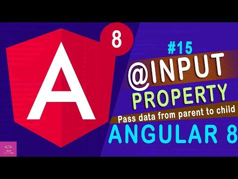 Angular component @input properties in Angular 8 [Tutorial - 15] thumbnail