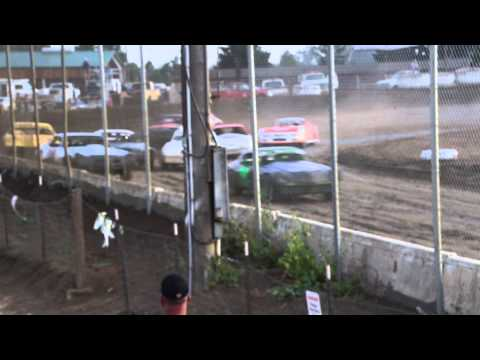 Crash Wall at Ocean Speedway