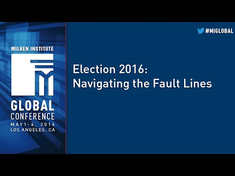 Election 2016: Navigating the Fault Lines