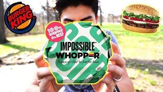 IMPOSSIBLE WHOPPER Taste Test *SHOCKED*
