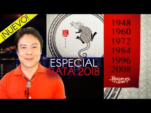 🐭-rata-2018-🐭feliz-año-chino-del-perro-⛩-tirada-del-perro-&-tao-🐭-aÑos-1948-1960-1972-1984-1996-2008