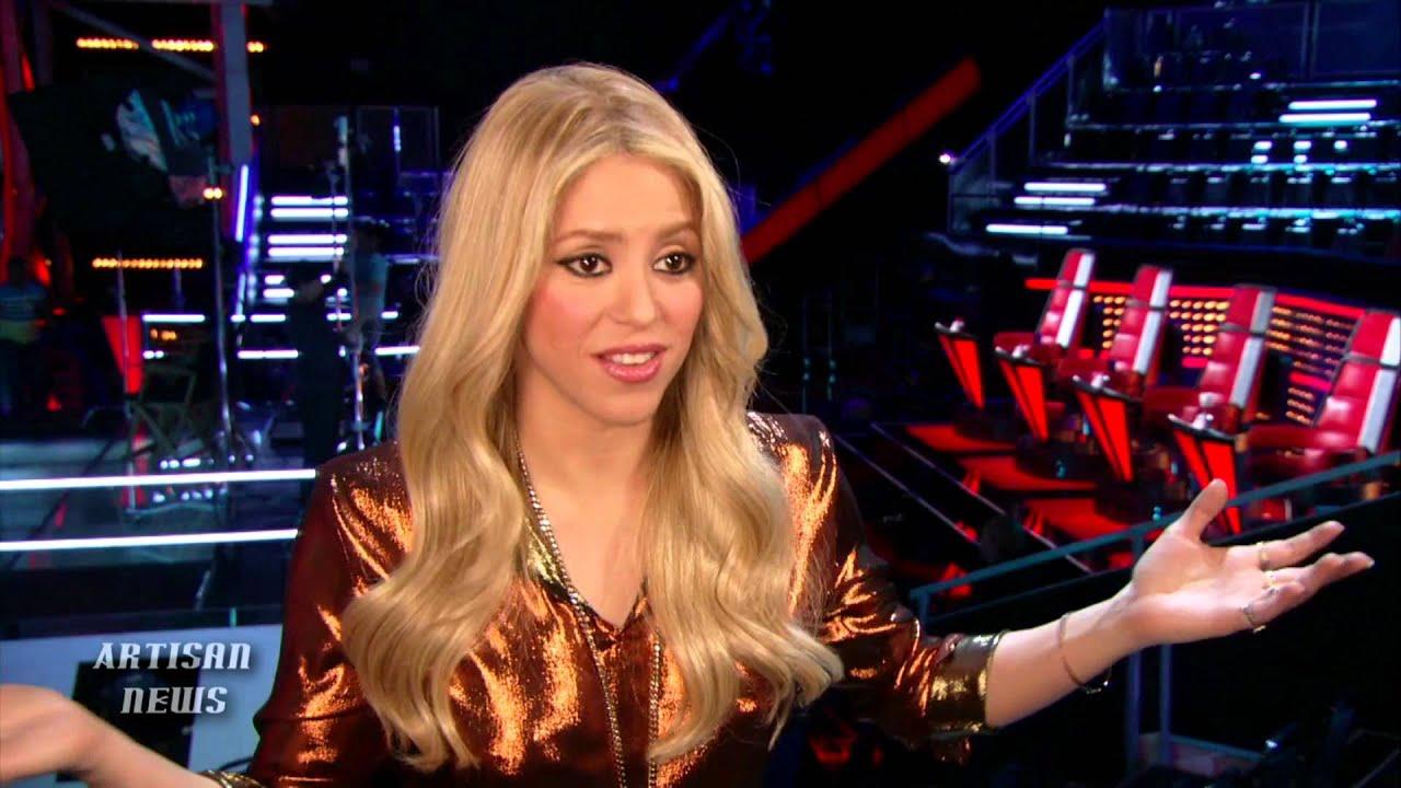 USHER, SHAKIRA ON THE VOICE HEARTBREAKING BATTLE ROUNDS ... Shakira Waka Waka
