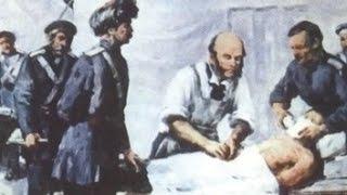 """""""Пирогов"""" (создатель военно полевой хирургии), ист. фильм,1947г"""