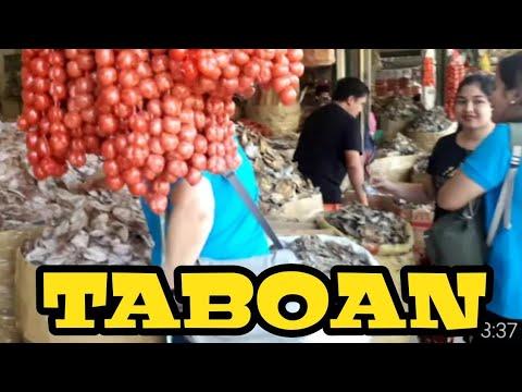 TABOAN PUBLIC MARKET CEBU CITY