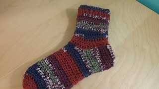 How to Crochet A Pair Of Socks