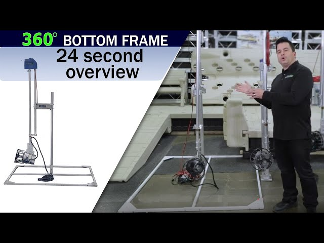 Aqua Thruster 360 Oscillator Portable Bottom Frame Mount | Overview Video
