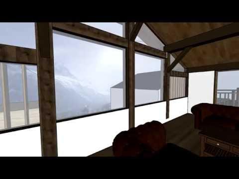 Chalet renovation - Chamonix: Alpine Eco architect