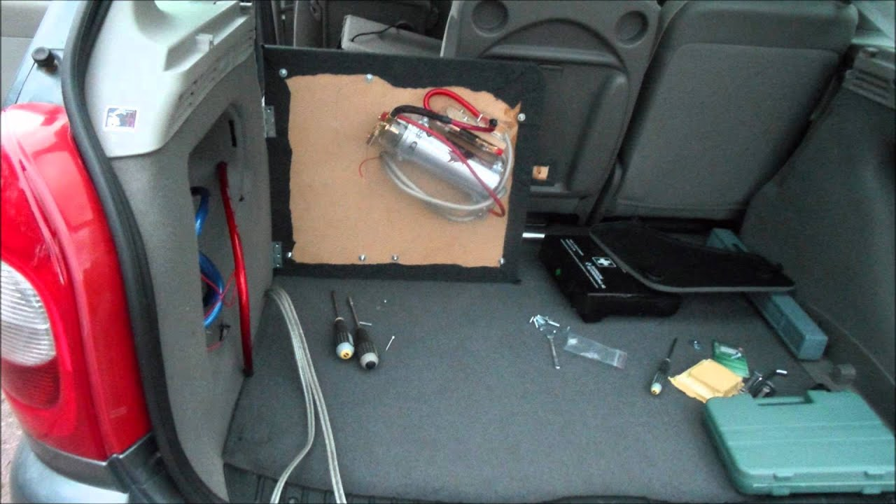 The Complete Audio Installation In My Citroen Xsara Picasso -04