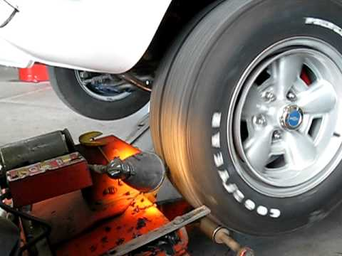 Bias Ply Tires >> Truing or shaving a bias-ply tire on a 1970 Camaro Z28 - YouTube