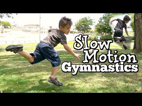 SLOW MOTION GYMNASTICS