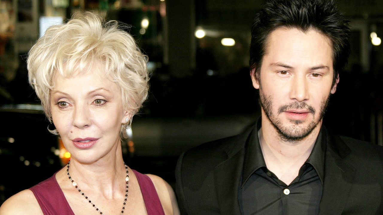 Keanu Reeves' cool mom was mistaken for his cool girlfriend at the ...