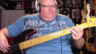 Albert Hammond It Never Rains In Southern California Bass Cover with Notes & Tab