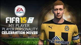 FIFA 15 | My Player Personality - Celebrations!