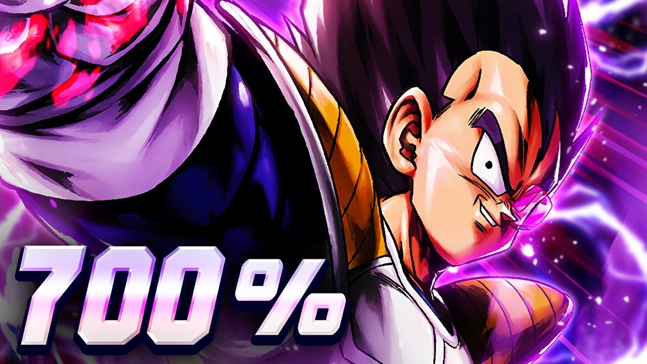 (Dragon Ball Legends) FULLY SOUL BOOSTED ULTRA VEGETA DOES MINDBLOWING DAMAGE EVEN AT 0 STARS!