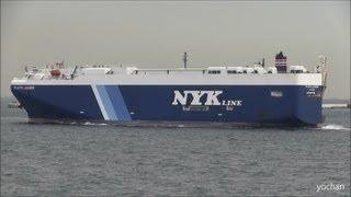 Car carrier ship (Ro-ro),PLUTO LEADER (NYK Line,Nippon Yusen Kabushiki Kaisha)