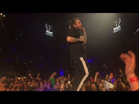 Post Malone Rockstar iHeartRadio Jingle Ball Toronto Live Front Row