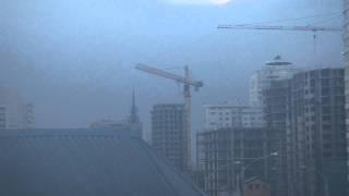Кран в свободном вращении(Съемка в воскресенье, 13 февраля 2011г. в Краснодаре на углу ул. Кубано-Набережная и Ленина. Был сильный ветер..., 2011-03-11T13:18:49.000Z)