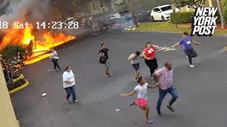 Baixar Plane crashes into children's center in Fort Lauderdale | New York Post
