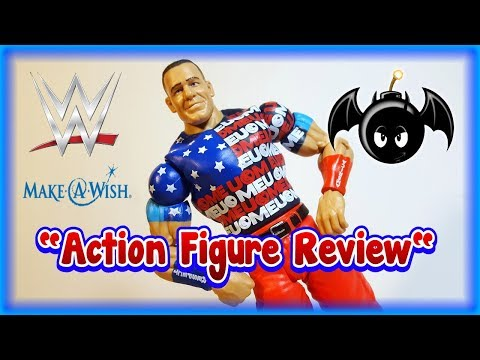 WWE Make A Wish John Cena figure review. (Toys R Us exclusive)