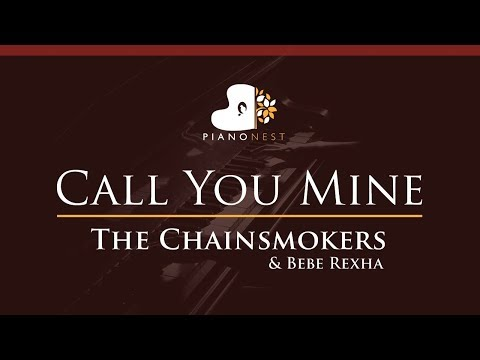 the-chainsmokers,-bebe-rexha---call-you-mine---higher-key-(piano-karaoke-/-sing-along)