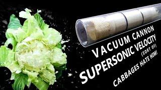 Rapid-Reload Vacuum Cannon: Magnetic Piston, No Burst Discs
