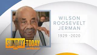 Former White House Butler Wilson Roosevelt Jerman Dies At 91 Of Coronavirus | Sunday TODAY