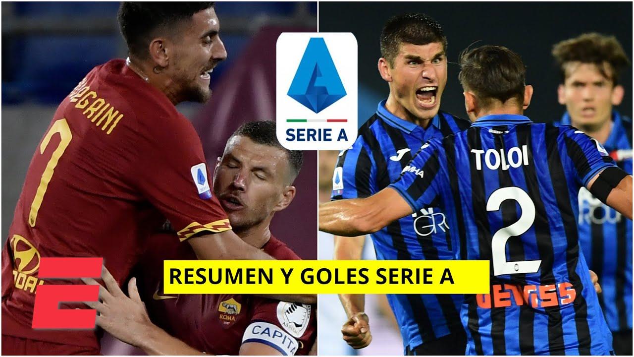 Roma vs Sampdoria y Atalanta vs Lazio RESUMEN y GOLES ...
