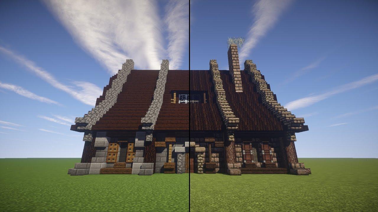 Tuto maison m dieval minecraft youtube - Video minecraft maison ...