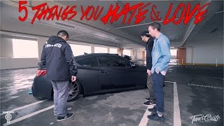 5 Things you HATE LOVE Bagged Genesis Coupe
