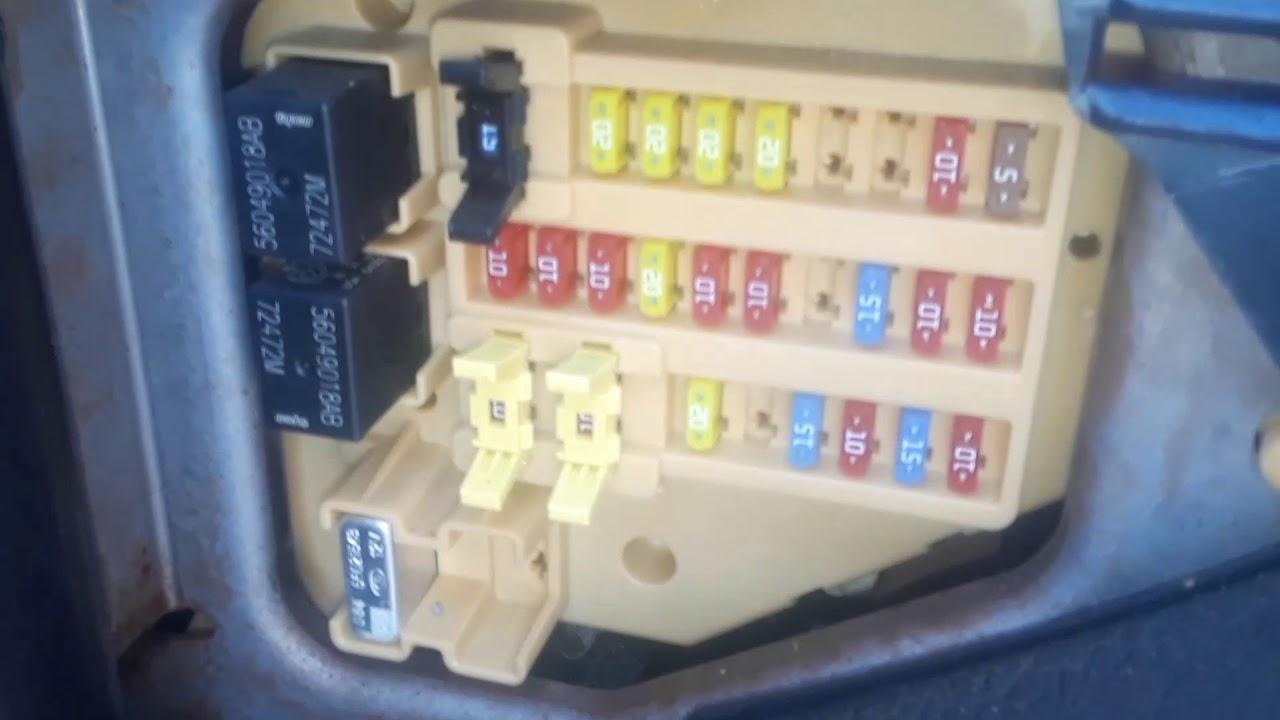 Dodge Dakota Fuse Box Amp Computer Scan Locations