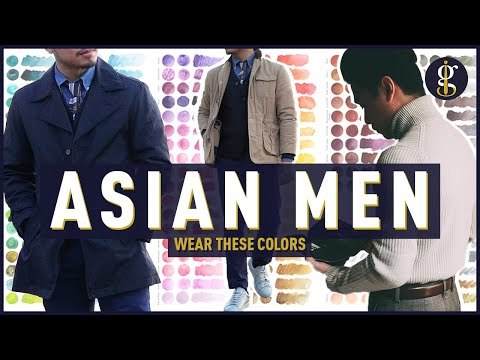 BEST COLORS to Wear for Southeast Asian Skin Tone (Men's Style & Fashion)