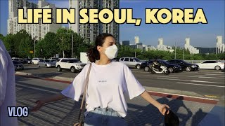 Day in My Life in Seoul, Korea | visiting Olympic Park