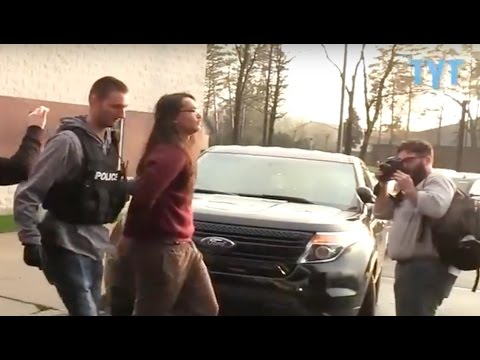 Mass Arrests At Flint Water Crisis Town Hall