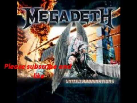 Megadeth - Never Walk Alone....call to arms