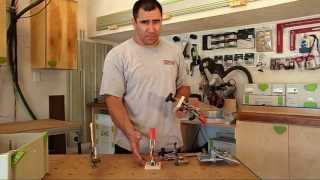 Kreg automaxx bench clamps with the Festool MFT