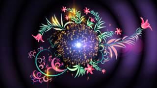 4K UHD Magia Floral Intro Animación de Fondo de Pantalla