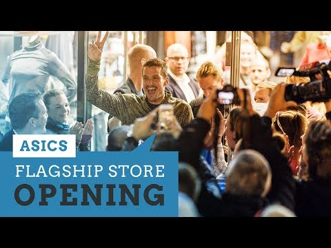 Jan beim ASICS Store Opening in Köln