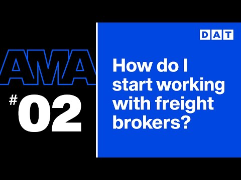 Trucking AMA: How Do I Start Working With Freight Brokers?