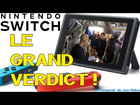 Nintendo Switch : Le grand verdict! - CJV21