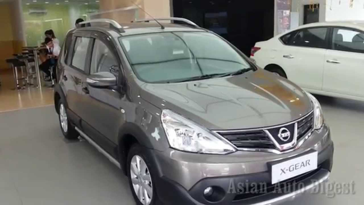 The New 2014 Nissan Livina X-Gear Launched Malaysia Interior Exterior