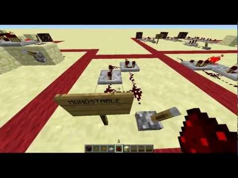 Minecraft - Comparator Circuits & Logic Gates - 13w01a [Re-Tour]
