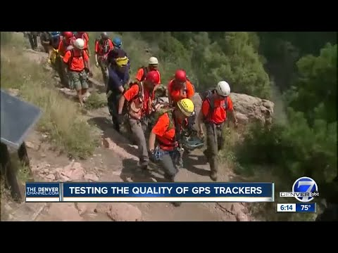 Testing the quality of GSP trackers on Colorado trails