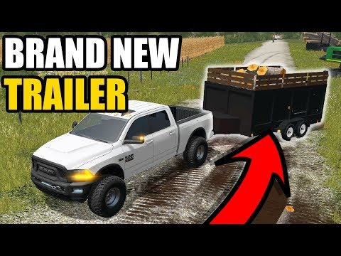 NEW DUMP TRAILER FOR THE LOGGING OPERATION | EP #6 | FARMING SIMULATOR 2017