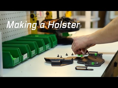 The Making of an Alien Gear IWB Holster - A Concealed Carry Story